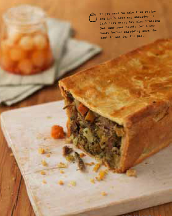 Cook On A Shoestring Lamb Mint And Potato Pie Sophie