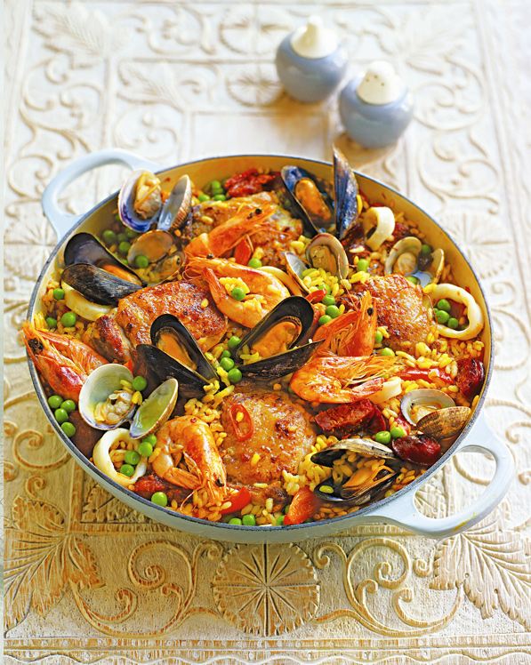 Easy Peasy - Paella Sophie Wright Catering