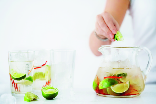 Chilli and Ginger Mojitos