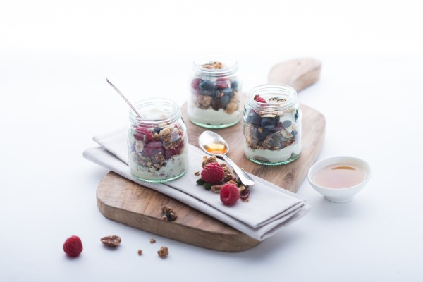 RAW GRANOLA BREAKFAST POTS